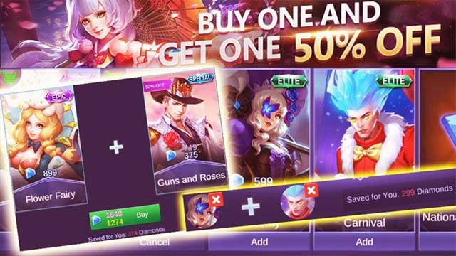 tips cara beli skin mobile legends murah pakai pulsa