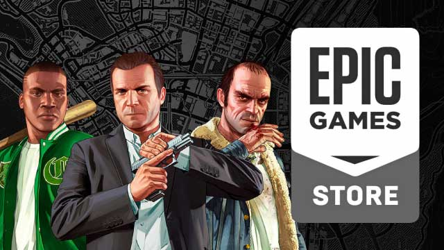 grand theft auto v epic game store