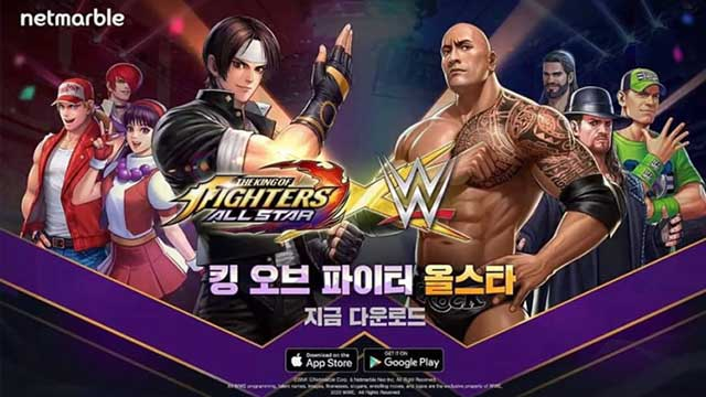 king of fighters allstar 2 wwe